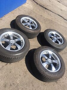 265/60R18 Michelin tire and ZENETTI RIMS
