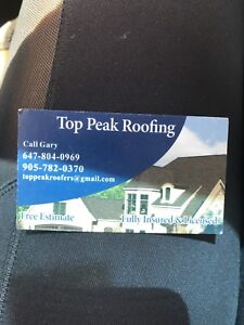 Repairs, re-roofs, new roofs.