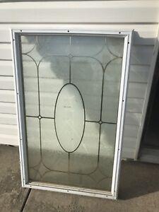 Window for standard door