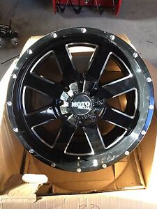 "MOTO METAL  20""  Ford F-350 wheel"
