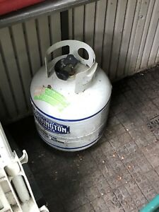 Propane tanks for the barbecue or heater