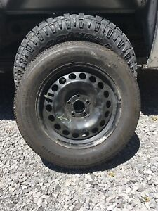 "16"" Chevy rims and firestone tires"