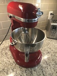 KitchenAid Professional 550 Plus Stand Mixer-Empire Red