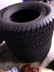 Assorted winter tires for Jeep or other large vehicles