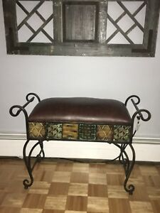 Small bench style seat
