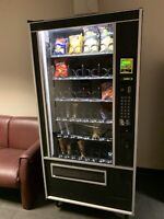 Vending machine on location for sale