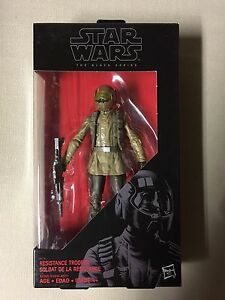 Star Wars black series resistance trooper