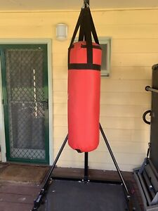 Rock Boxing Bag Stand & Sting Boxing Bag