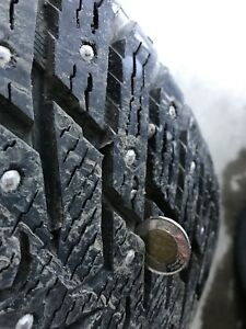 Nokian Winter studded tires 255/50/20