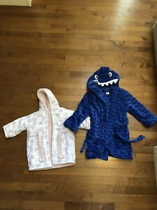 Kids housecoats. Boy 4/5. Girl 18 months. Clothes. Clothing