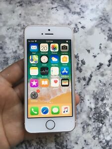 IPHONE SE 64GB UNLOCKED 9/10 CONDITION $220 FIRM
