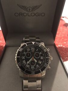 PRP $2,500 Authentic Orologio Monza collection Chronograph Watch Roxburgh Park Hume Area Preview