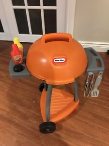Kids Little Tykes Sizzle N Serve Toy BBQ
