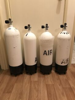 4x Faber Dive Cylinders
