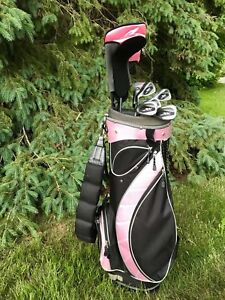 Golf Clubs — Complete set of ladies XV left hand
