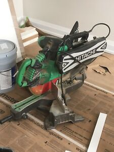 Hitachi combination chop saw