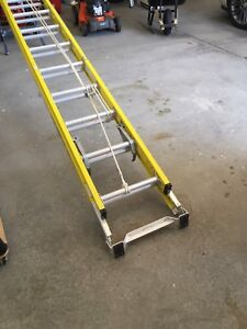 Feather lite extension ladder.