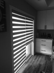 California shutters zebra shades Drapery Blinds 416 859 1901