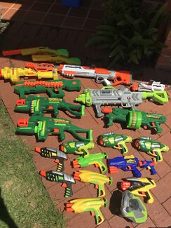 Buzz bee Nerf guns dart blaster toys Rooty Hill Blacktown Area Preview