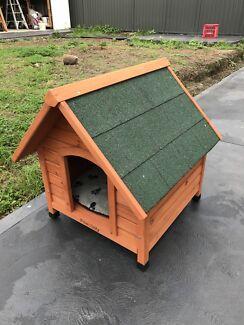 2 x Timber Dog House - $80 each