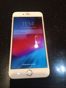 iPhone 6Plus 64Gb Factory Unlocked Gr8 Cond W Walletcase&Charger