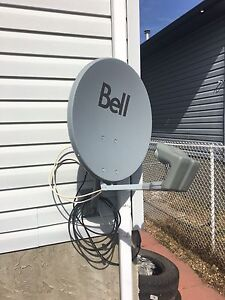 Bell satellite and lnb's cheap!!