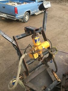 Meyers Plow harness and Pump