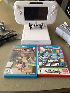 Wii u system and games