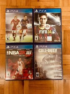 4 PS4 Games For Sale In Good Condition