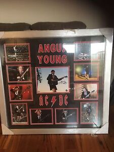 AC/DC Angus Young autographed memorabilia Mullaloo Joondalup Area Preview