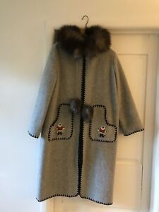 Vintage Hudson's Bay Coat (medium)