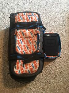 Ktm ogio 9800 gear bag and goggle case