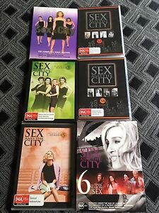 Sex And The City DVD's - All 6 Seasons Oldbury Serpentine Area Preview