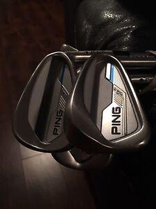 Brand new Stiff RH Ping i Irons!