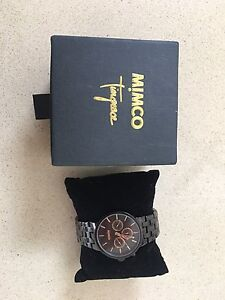 Black mimco watch North Hobart Hobart City Preview