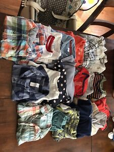 Baby boy clothes lot.