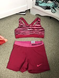 Nike pro and lululemon