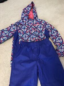 Girl's Rain coat with splash pants