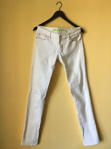 Beautiful White Denim Pants (7 long)