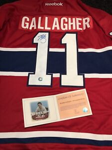 Autographed Montreal Canadiens Jersey