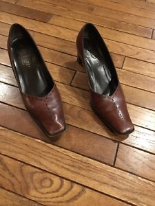 Amalfi Brown Leather Shoes