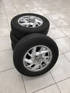 GM 5-bolt alloys with worn 205/70/15 tires