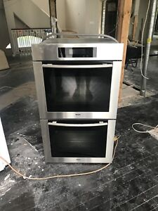 """Miele 30"""" MasterChef Double Electric Wall Oven"""