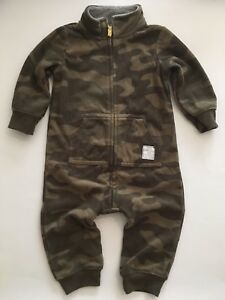 Carters 9 months camp fleece outfit excellent