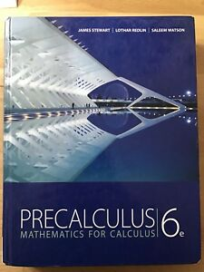 Precalculus: Mathematics for Calculus 6th Edition (Hardcover)