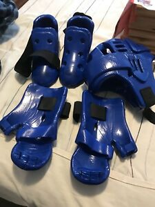 TaeKwonDo boards and sparring gear