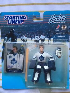 Curtis Joseph action figure and card