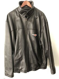 NOS Bentley lambskin leather jacket high-quality. Collectible.