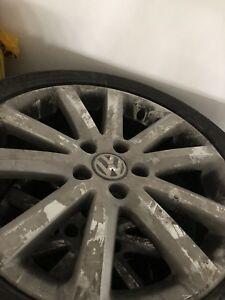 "17"" VW Alloy rims/Bridgestone Potenza 235/45/17 94V tires"