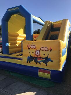 Minion jumping castle for hire